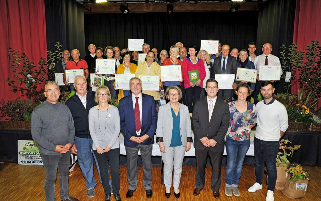 Villes et villages fleuris, huit communes récompensées  dans le Calvados