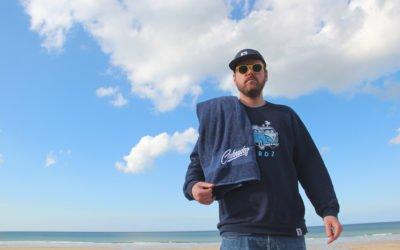 Birdz : Des serviettes de plage  à la mode du Calvados