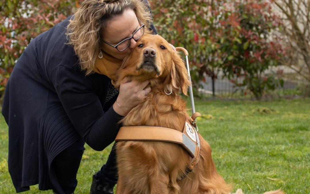 À VUE DE TRUFFE : des chiens guides pour les non-voyants