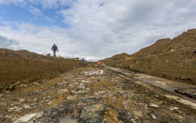 Englesqueville-la-Percée Des fouilles archéologiques sur la station radar d'Omaha Beach.