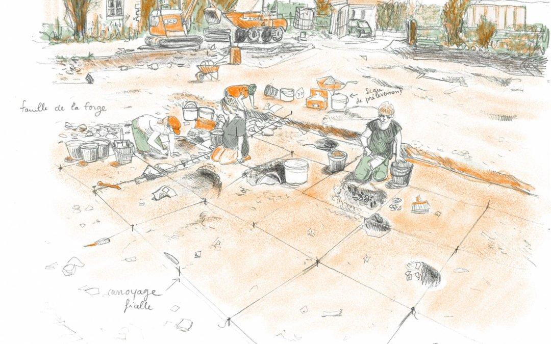 ARCHÉOLOGIE :  suivre un chantier autrement