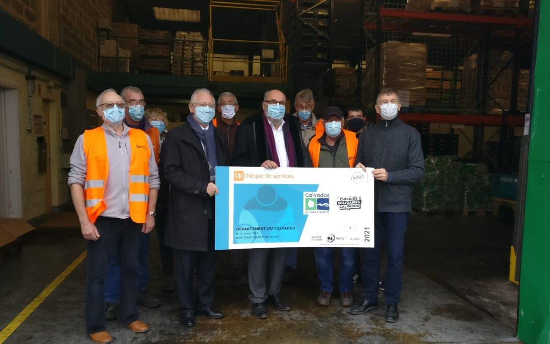 Chèques solidaires Calvados :  près de 20 000 bénéficiaires
