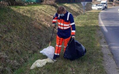 Et si on arrêtait de jeter des déchets sur les routes?