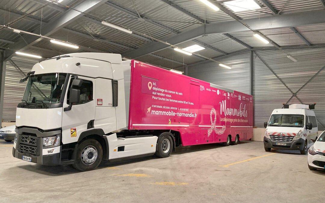 Le Mammobile, un nouvel accès pour le dépistage du cancer du sein
