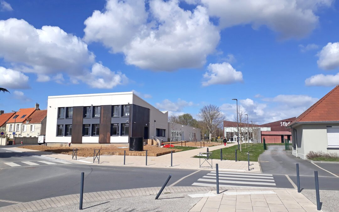 Le centre médico-social de Saint-Manvieu-Norrey  emménage à Bretteville- l'Orgueilleuse