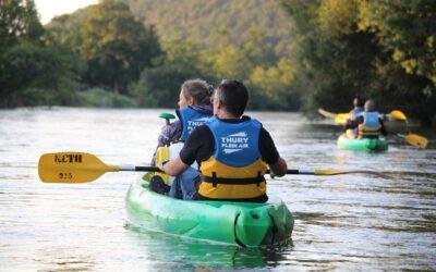 Balade nocturne en canoë-kayak avec un guide nature