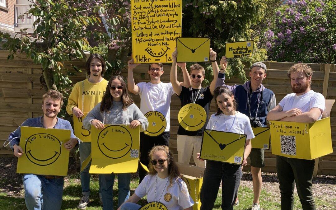 1 lettre 1 sourire : ensoleiller la journée d'une personne âgée en EHPAD