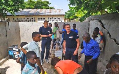 Deux pompiers du Calvados en aide aux Haïtiens